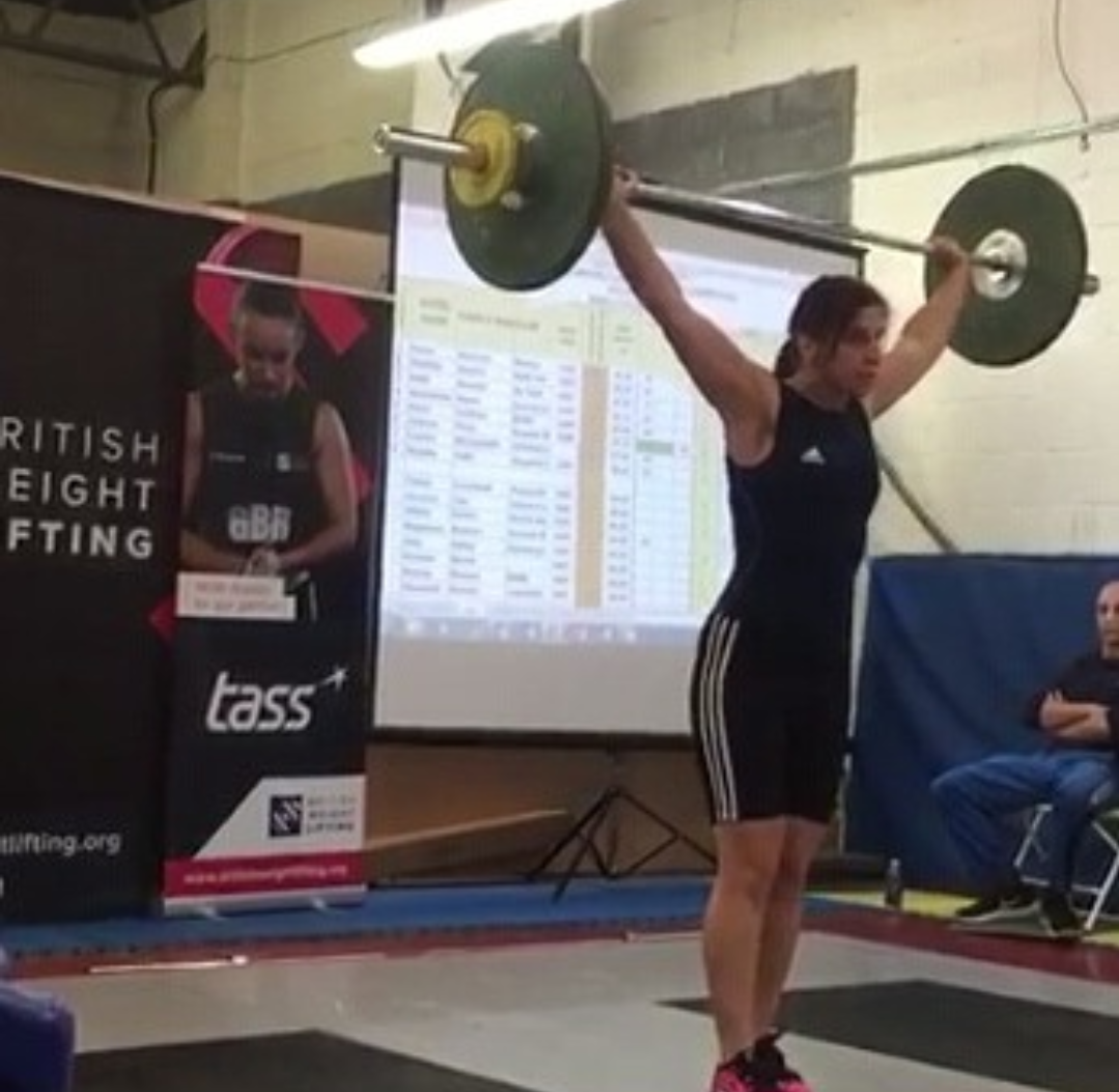 Andrea Peck - Weightlifting
