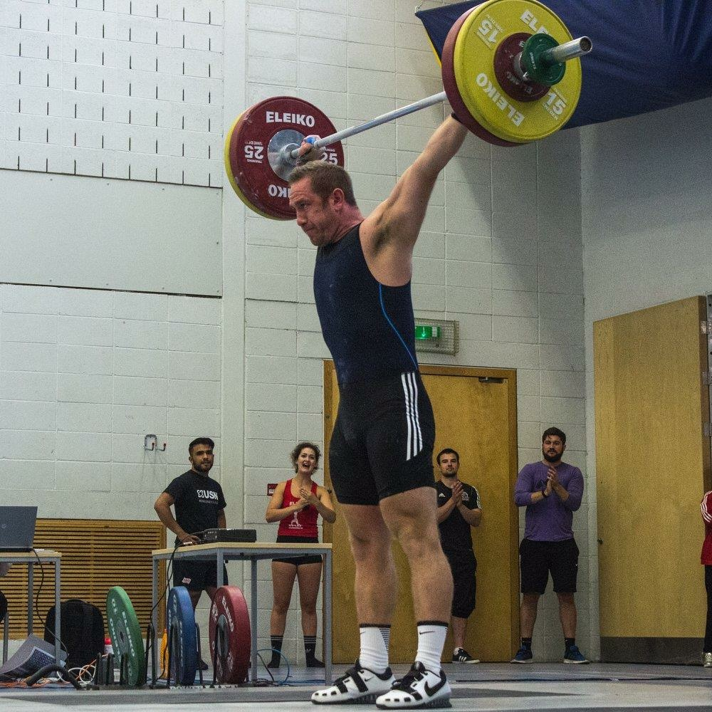 Tom Jolly - Weightlifting