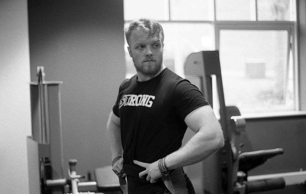 Eoghan Moriarty - Powerlifting