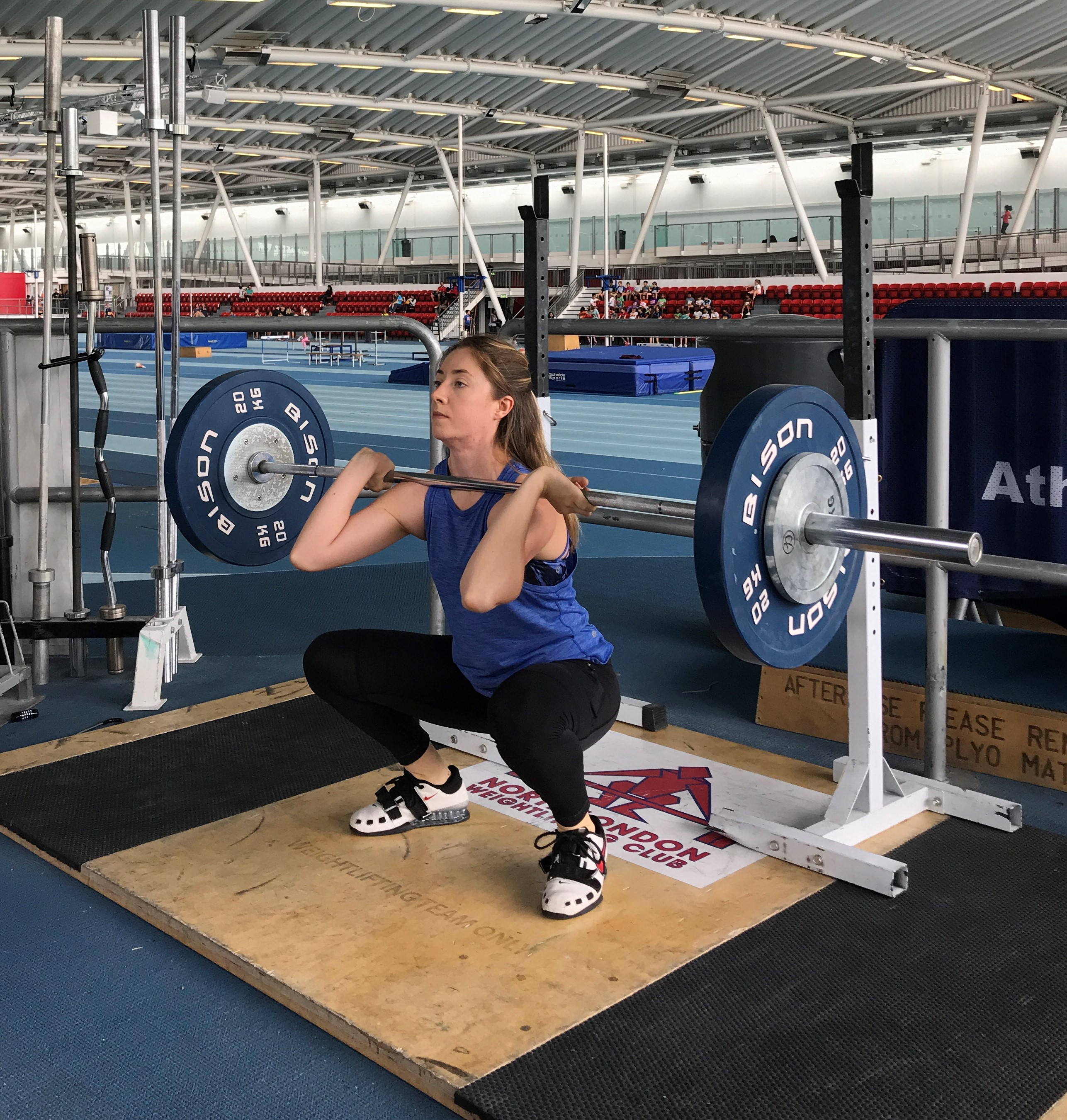 Katharine Sharp- Powerlifting