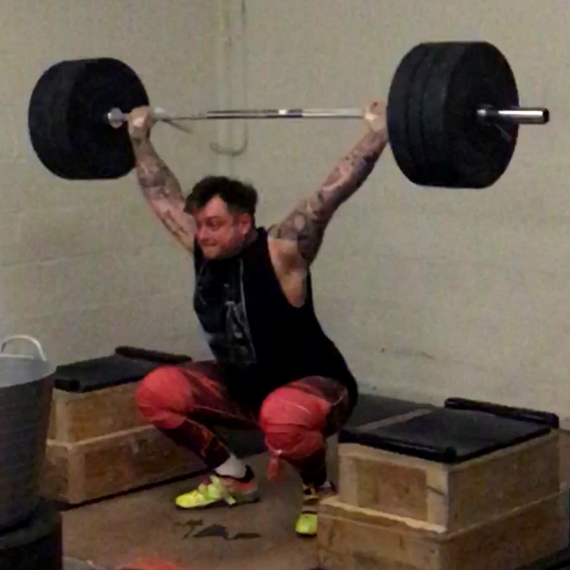 Adam Pugh - Weightlifting